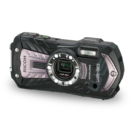 RICOH WG-30W KIT CARBON GRAY **