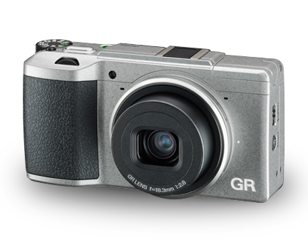 175877 - Ricoh GR II (Silver) Limited