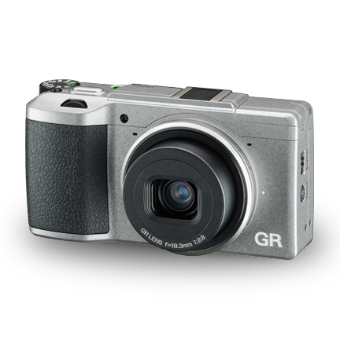 Ricoh GR II (Silver) Limited Edition with Case OCE