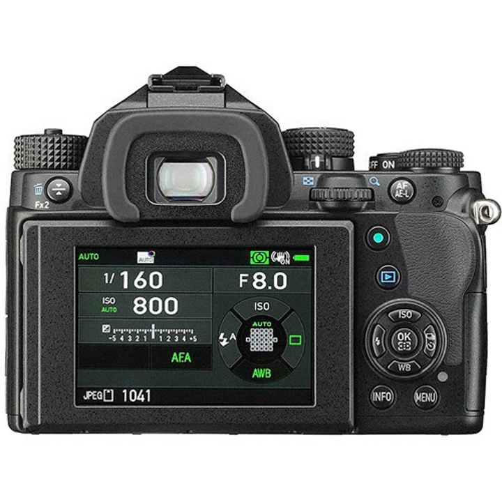 16019 - Pentax KP DSLR Body (Black)